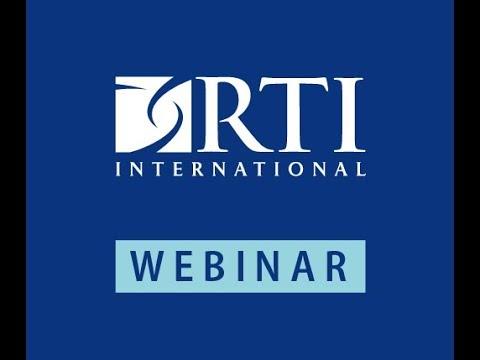 RTI Webinar: Improving the Quality of Addiction Treatment