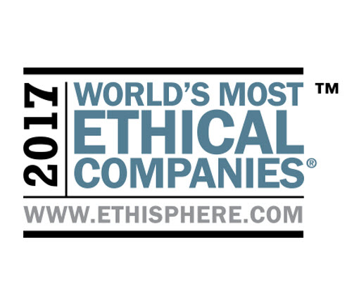 logo for the World's Most Ethical Companies Award 2017