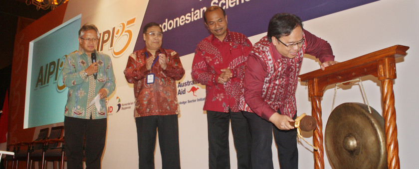 Opening ceremony for Indonesian Science Fund