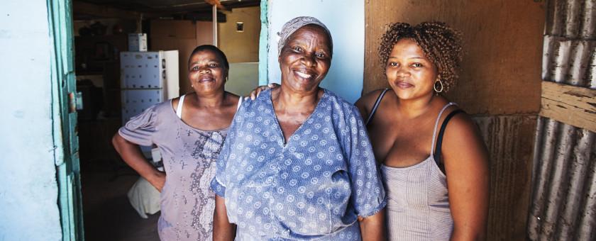 Xhosa women in South Africa