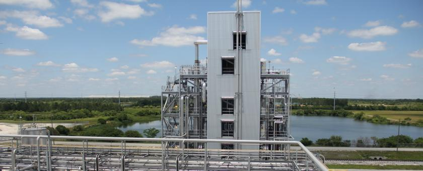 Our WDP technology at Tampa Electric's Polk Power Plant