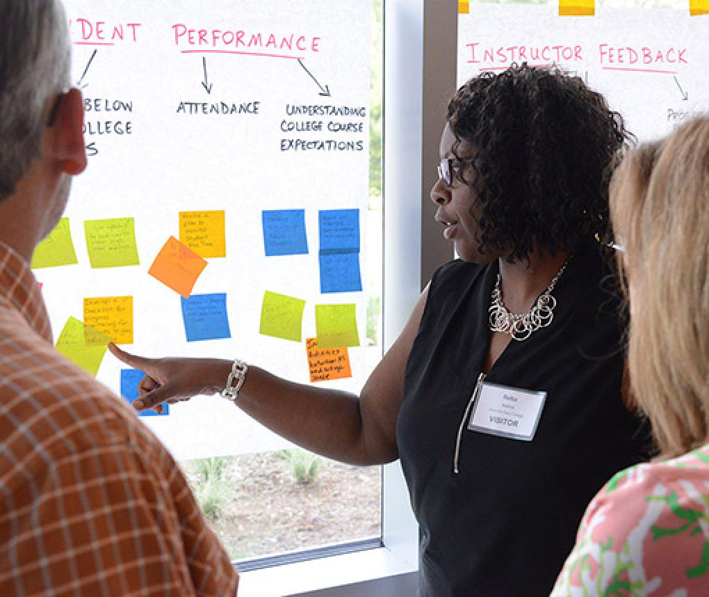 Educators learn ways to better engage students in learning.