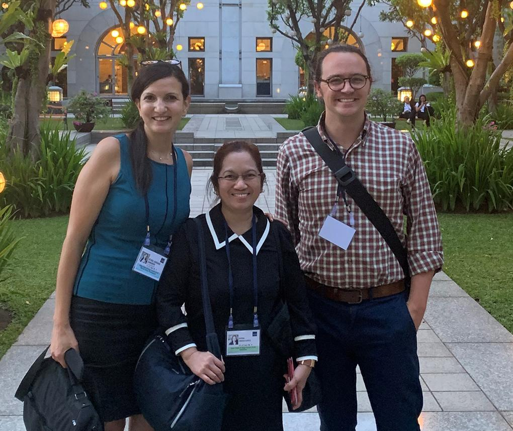 RTI experts Ruba Amarin, Divina Chingcuanco, and Ben Lord attended the 2019 Asia Clean Energy Forum.