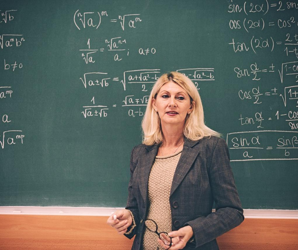 female math professor