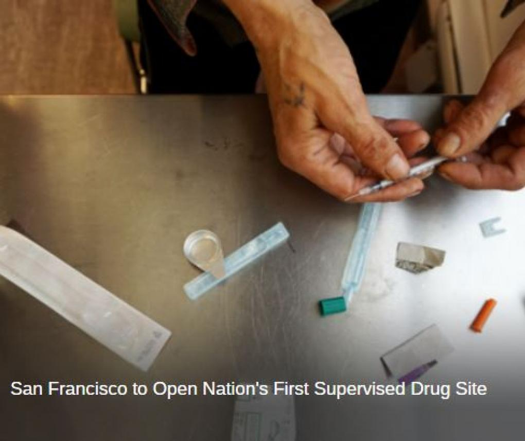 San Francisco Supervised Injection Site