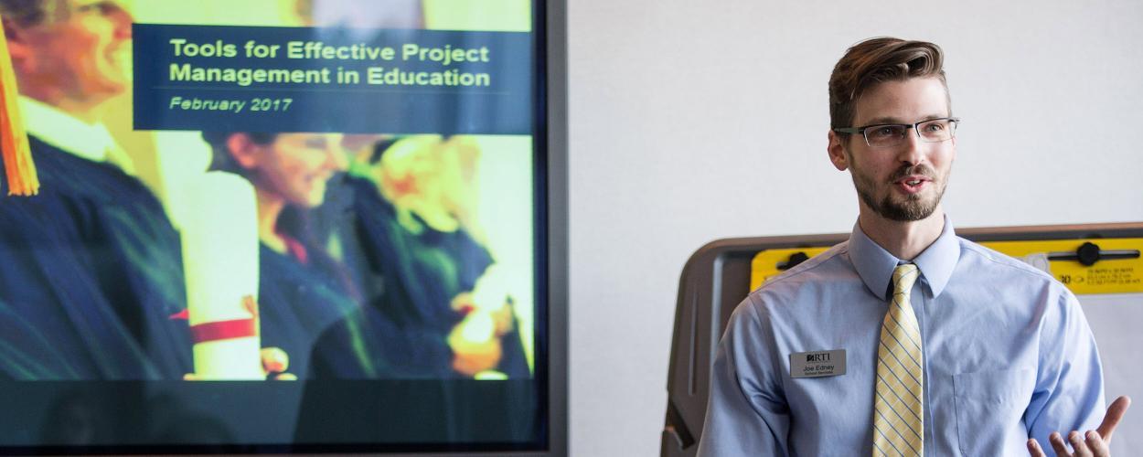 Joe Edney offers his education expertise