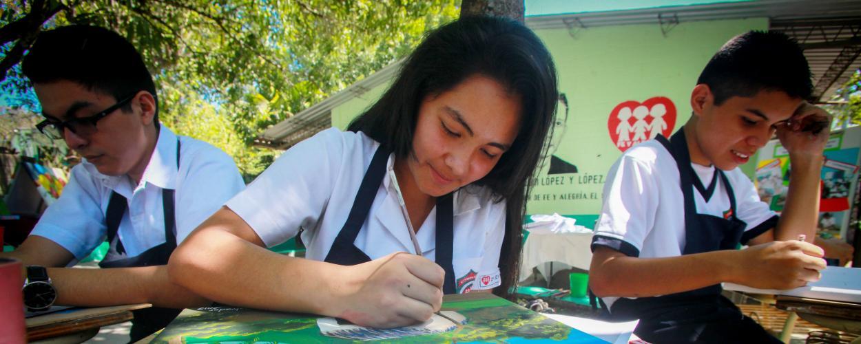 Soyapango de Fe y Alegría community partnerships event