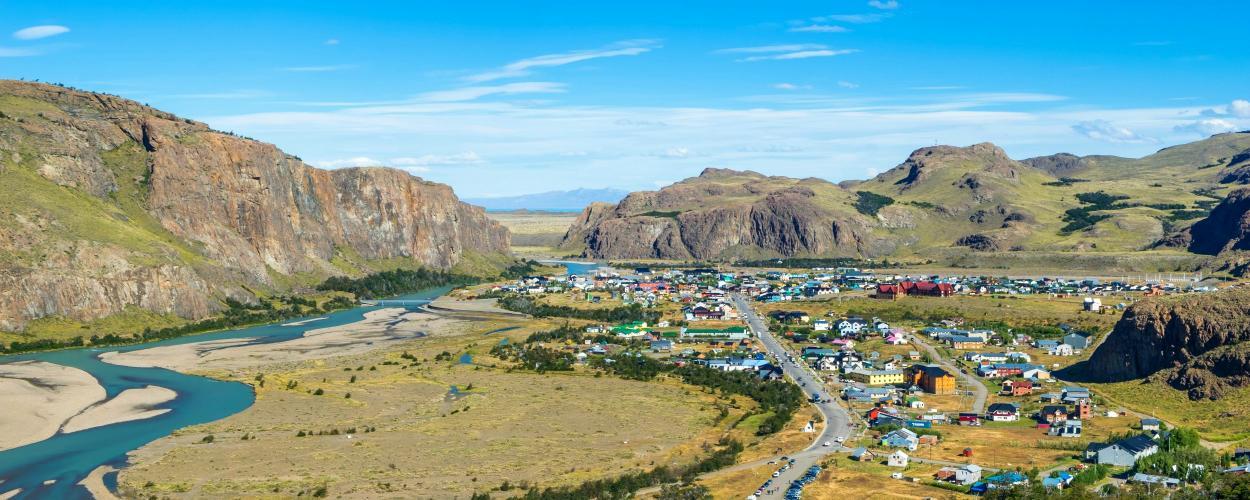 Landscape of El Chaltan, Argentina
