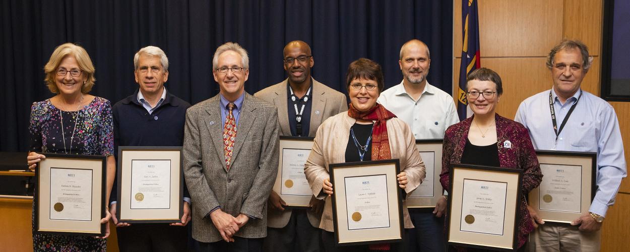 RTI's Distinguished Fellows