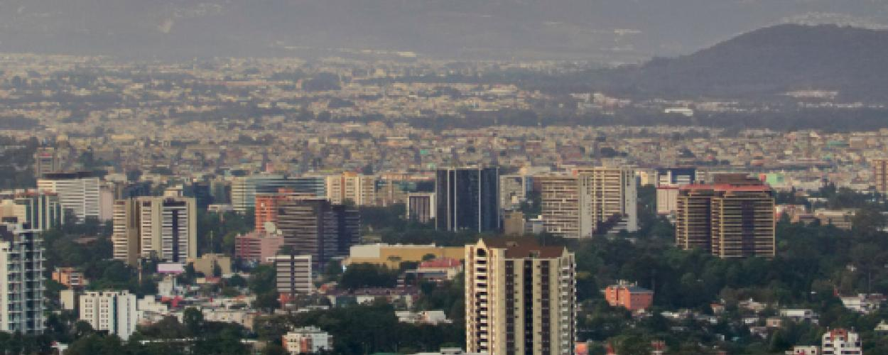 skyline of Guatemala City