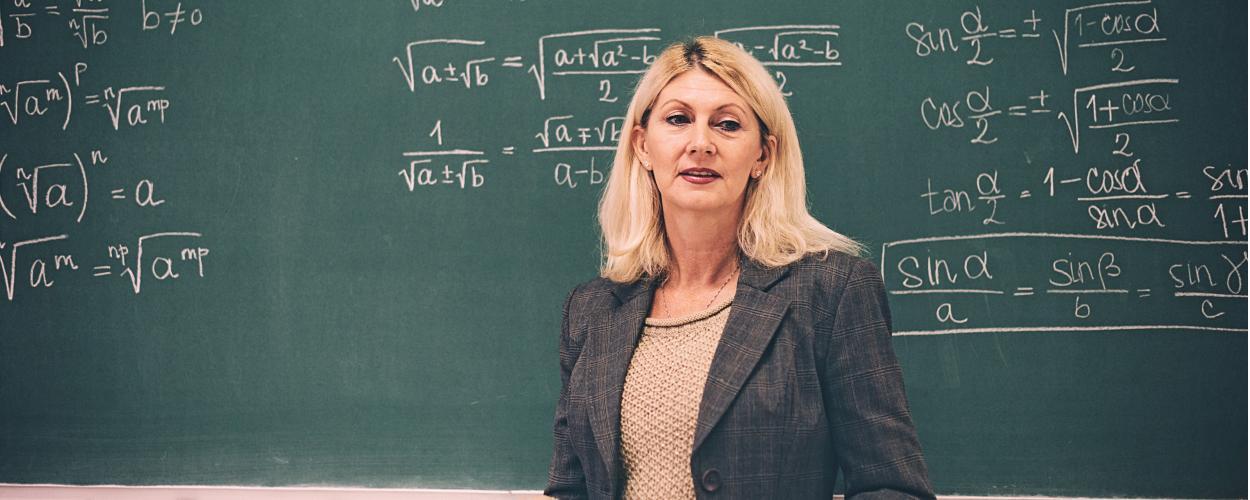 female math professor