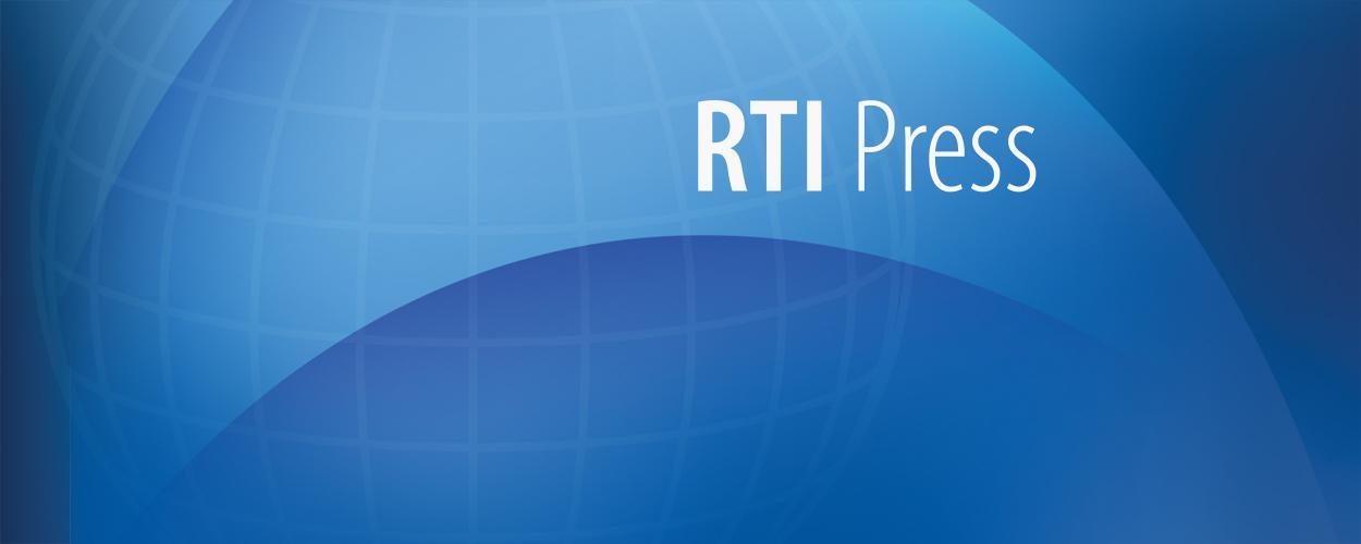 RTI Press banner