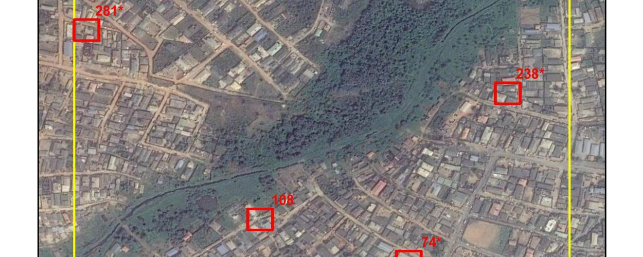 Geosampling map