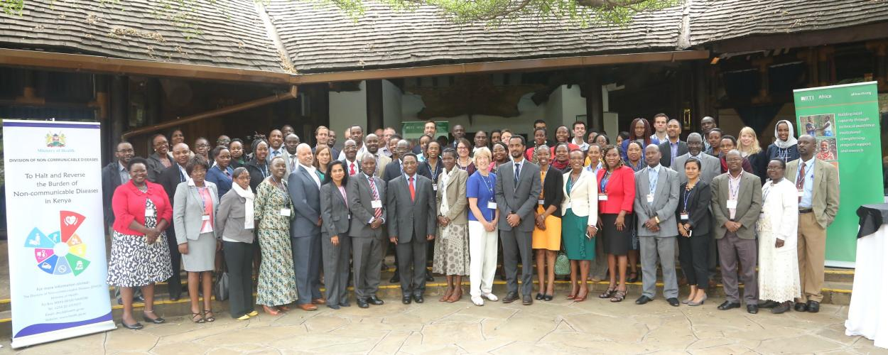 Collaborating to curb the burden of NCDs in Kenya