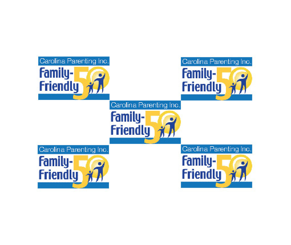 Carolina Parent magazine Family Friendly 50 logo