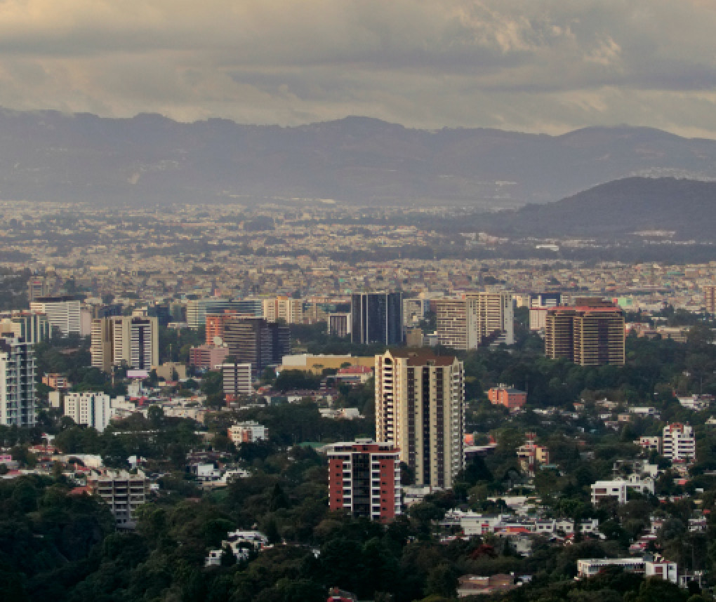 skyline of Guatemala City