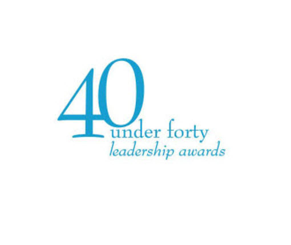 Triangle Business Journal 40 under 40 logo